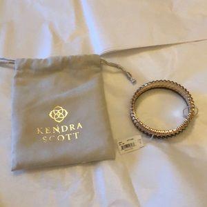 Kendra Scott mixed metals bangle bracelets